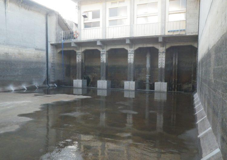 施工事例-上・下水処理場工事